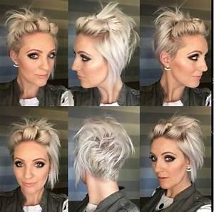 Tuto Coiffure Cheveux Court : tuto coiffure cheveux court facile et rapide coiffure ~ Melissatoandfro.com Idées de Décoration