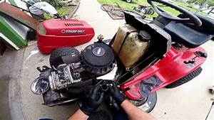 Removing Carburetor Briggs  U0026 Stratton 17 5 Hp Engine