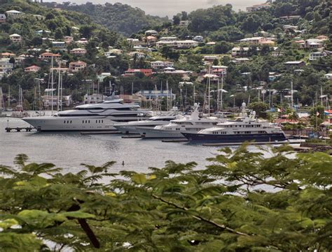 port louis marina visited by numerous superyachts superyacht yacht charter news