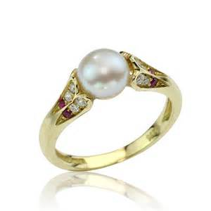 etsy engagement ring antique style pearl 18k gold engagement ring by netawolpe on etsy