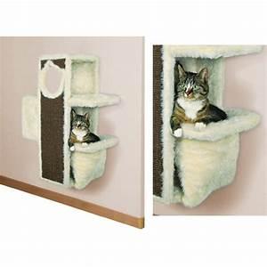 Arbre À Chat Mural : arbre chat et griffoir chats chez ~ Melissatoandfro.com Idées de Décoration