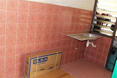 pemasangan kabinet dapur di ppr pantai dalam