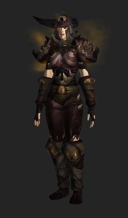 vengeful gladiators chain armor conjunto de