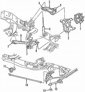 Suspension Components For 2000 Dodge Durango Parts