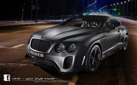 Vilner Bentley Continental Gt Wallpaper