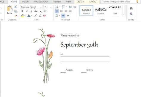 Rsvp Template For Event by Rsvp Cards Maker Template For Word