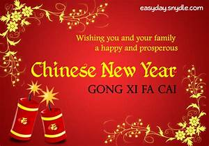 Chinese New Year Greetings, Messages and New Year Wishes