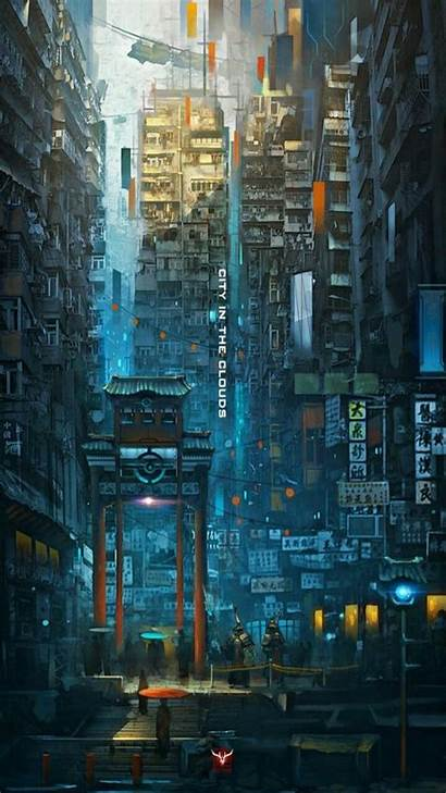 Cyberpunk Wallpapers Android Phone Cave