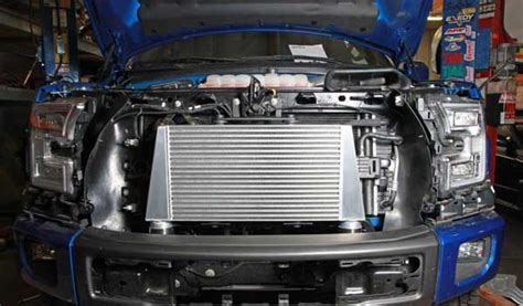 Ford Raptor Engine Upgrades by Race Freakoboost Intercooler Cac Upgrade Kit 2017