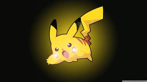 pikachu ultra hd desktop background wallpaper   uhd