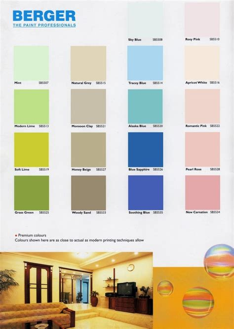 berger colour shade catalogue  bangladesh asian
