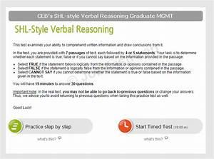 Shl Grad  Mgmt Numerical  U0026 Verbal Reasoning Practice
