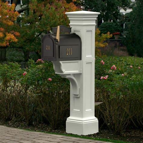 Decorative Street Lamp Post by Mayne Liberty Vinyl Mailbox Post 5805 Mayne Liberty