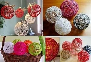 Boule De Noel A Fabriquer : fabriquer boule de noel avec laine ~ Nature-et-papiers.com Idées de Décoration