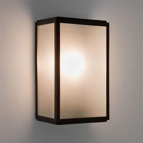 astro lighting 7266 homefield sensor pir ip44 outdoor wall light black