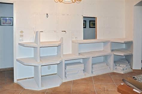 fabriquer sa cuisine en beton cellulaire plan de travail exterieur en siporex photos de