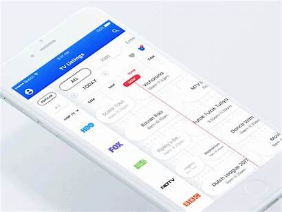 Alarm Programs Tv Ui Listings Apple App