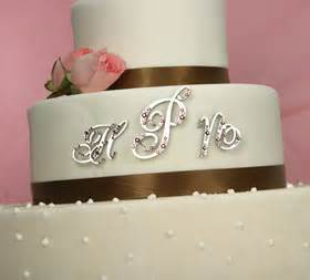 monogram cake toppers serendipity tiaras custom swarovski bridal jewelry