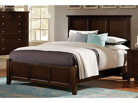 vaughan bassett bedroom bonanza queen panel bed g61812