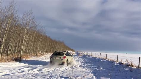 Subaru Crosstrek Snow by Crosstrek Xv In Snow