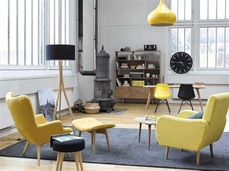 salon canapé fauteuil 20 fauteuils et canapés jaunes pour le salon joli place