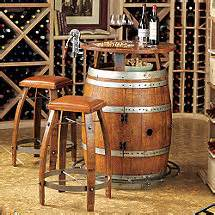 Personalized Bar Stool by Wine Barrel Furniture Wine Enthusiast