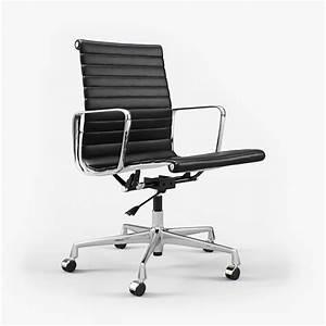 Vitra Eames Chair : vitra charles ray eames aluminium chair ea 117 i 3d on ~ A.2002-acura-tl-radio.info Haus und Dekorationen
