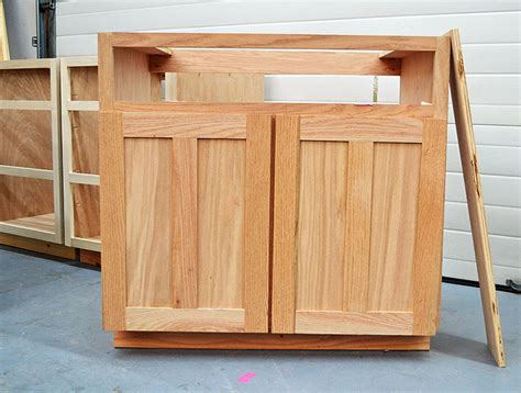 build cabinet doors plywood ana white kitchen cabinet sink base 36 full overlay face