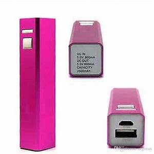 2020 Aluminum Usb 18650 Battery Charger 2600mah Power Bank