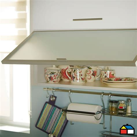 home collection mueble mural horizontal vidrio    cm