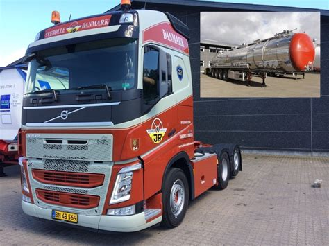 Volvo 2019 Announcement by 74481 Tekno Volvo Fh04 Gl With Tanktrailer 4axle