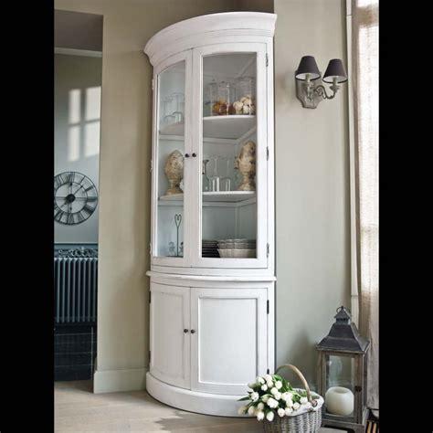 caisson de cuisine bas vaisselier d 39 angle blanc
