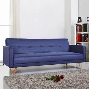 canape convertible ou canape lit pas cher cote maison With tapis couloir avec canape convertible petit modele