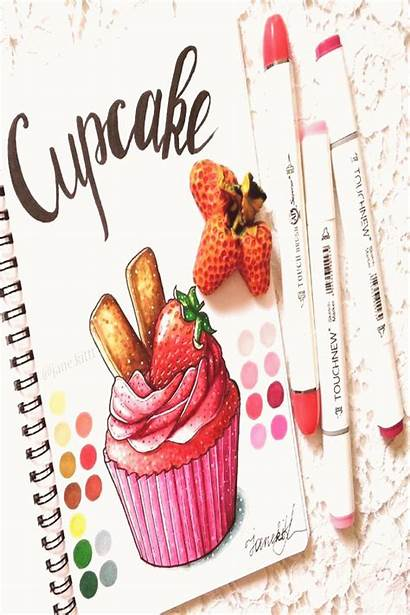 Copic Cupcake Marker Best10en Markers Drawings Recipes