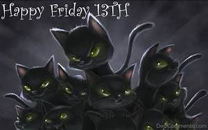 Happy Friday the 13th Wishes - DesiComments.com