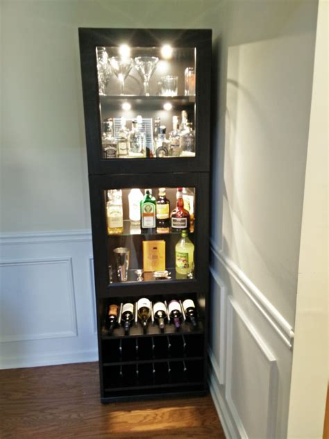 wall mounted liquor tall black corner liquor with glass doors and