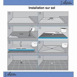 Receveur Douche Pret A Carreler : receveur de douche 100x100x4cm pr t carreler avec siphon ~ Premium-room.com Idées de Décoration
