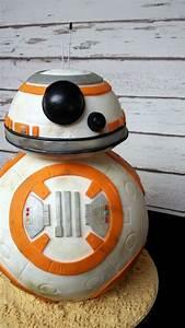 Bb-8 Cake - Star Wars! - CakeCentral com