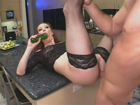 Hardcore Anal Sex On The Kitchen Counter With Nasty Wife