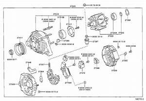 Toyota Solara Holder  Alternator  With Rectifier  Engine