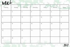 Kalender Juni 2017 Zum Ausdrucken : kalender for m neden mai 2017 ~ Whattoseeinmadrid.com Haus und Dekorationen