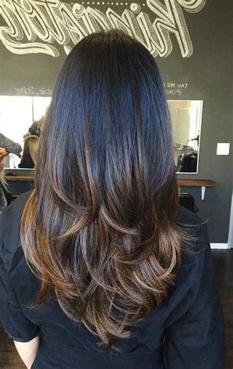 sweet long layered haircuts   summer
