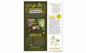 Tourism Flyer Template Farmers Market Flyer Template Design