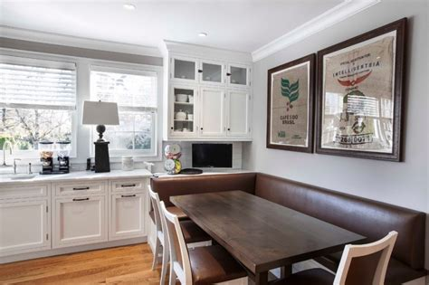 booth style kitchen table ideas   love decohoms