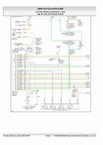 My Transmission In My 2004 E250  Wiring Diagram  Vehicles