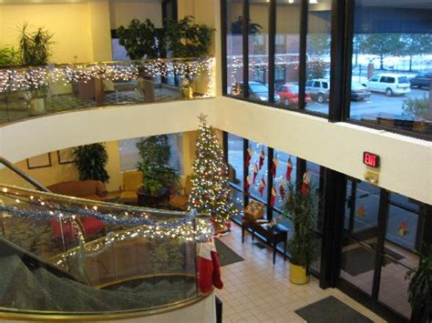 comfort inn cleveland ohio lobby with decorations picture of comfort inn