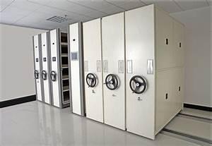 China Manual Mass Shelf    Mobile Filing Cabinet   Compact