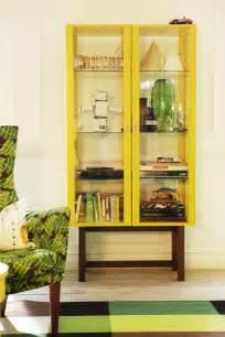 IKEA Stockholm Glass Door Cabinet
