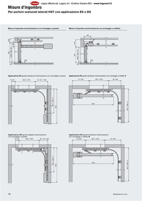 portone sezionale hormann 2013 hormann portone sezionale laterale by legno s r l