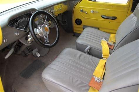 chevy panel truck yellow  orange flames  sale
